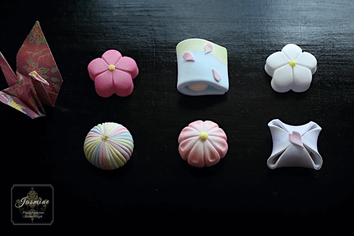 クレイで作る和菓子
