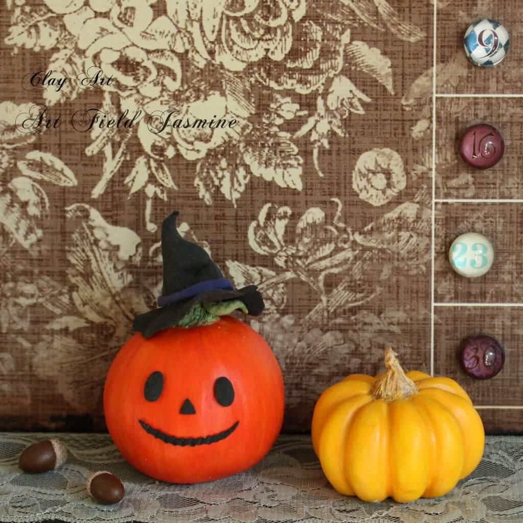 怖くないハロウィンかぼちゃ