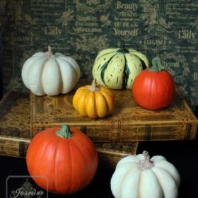クレイで作るハロウィンかぼちゃ