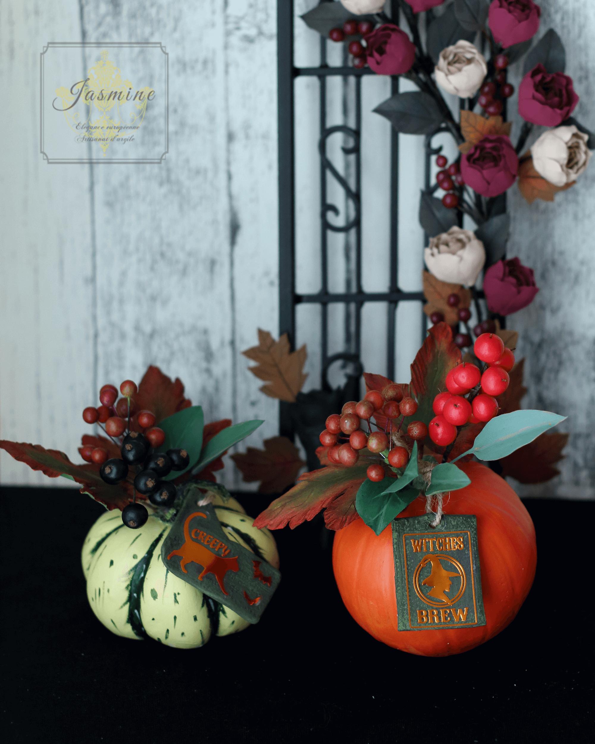 クレイ 季節のアレンジ ハロウィン