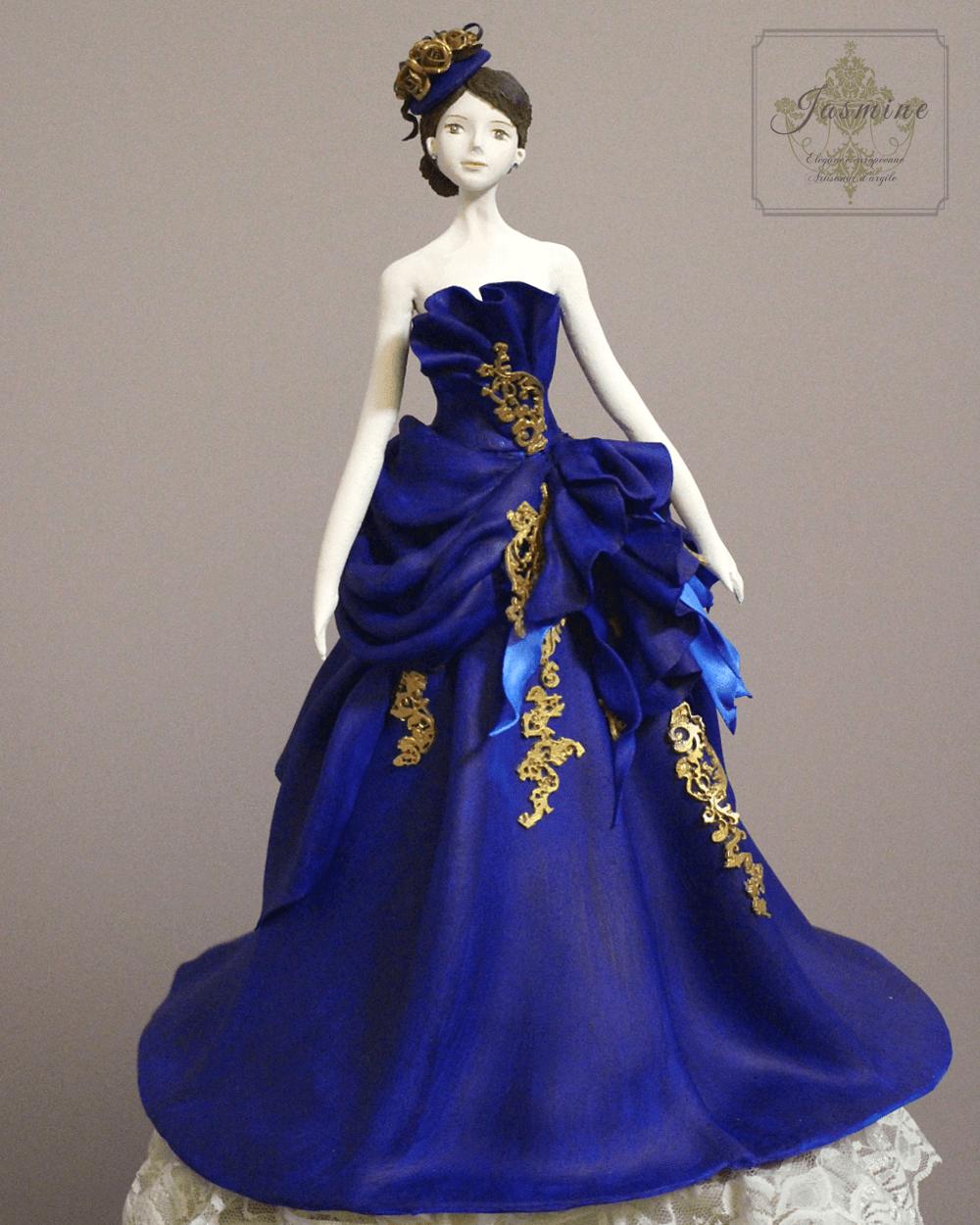 クレイのフィギュリン 花嫁