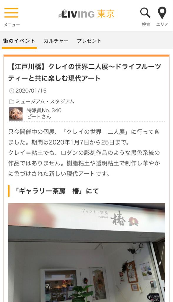 living紹介記事 ビートさん