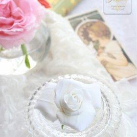 clayart-jasmine-クレイのホワイトローズ